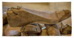 Antique Wooden Shoe Forms - 2 Hand Towel