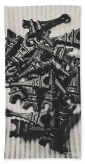 Antiquities In Architecture Hand Towel