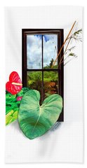 Anthurium 2 Hand Towel