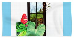 Anthurium Hand Towel