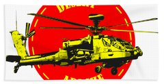 Apache On Desert Hand Towel