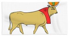 Apis - Egyptian Sacred Bull Bath Towel