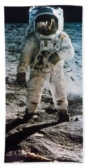 Apollo 11 Buzz Aldrin - To License For Professional Use Visit Granger.com Bath Towel