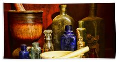 Apothecary - Tools Of The Pharmacist Bath Towel