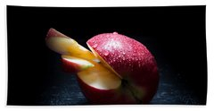 Apple And Drops Hand Towel