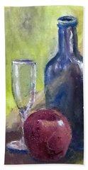 Apple And Wine Hand Towel