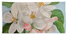 Apple Blossom Bath Towel