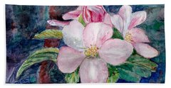 Apple Blossom - Painting Hand Towel