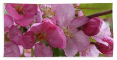 Apple Blossoms Hand Towel