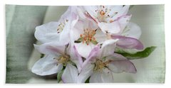 Apple Blossoms From My Hepburn Garden Bath Towel