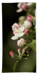 Apple Flower And Buds Bath Towel