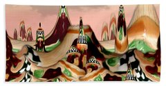 Hand Towel featuring the photograph Apple Land Countryside by Barbara Tristan