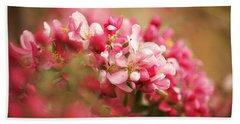 Apple Tree Flowers In Spring Hand Towel