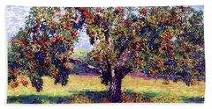 Apple Tree Orchard Bath Towel