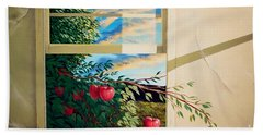 Apple Tree Overflowing Bath Towel