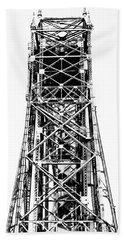 Aerial Lift Bridge-duluth, Mn Bath Towel