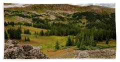 Approaching The Great Divide Hand Towel