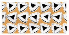 Hand Towel featuring the mixed media Apricot Hamentashen- Art By Linda Woods by Linda Woods
