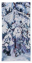 April Snow Hand Towel
