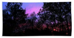 April Sunset Bath Towel