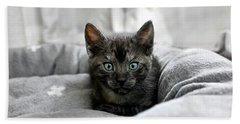 Aqua Eyes By Kaye Menner Bath Towel