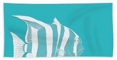 Aqua Fish  Hand Towel