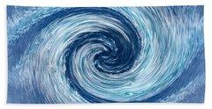 Aqua Swirl Hand Towel