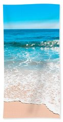 Aquamarine Island Beach Hand Towel