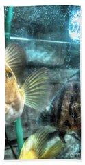 Aquarium Hand Towel by Yury Bashkin