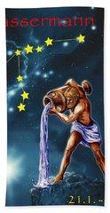 Aquarius Hand Towel