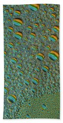 Aquateal Scape Hand Towel by Bruce Pritchett