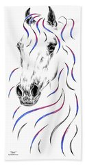 Arabian Horse Style Bath Towel