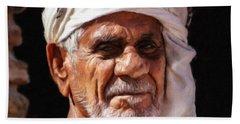 Arabian Old Man Bath Towel