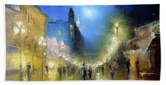 Arbat Night Lights Bath Towel