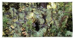 Arboreal Lichens Hand Towel