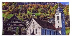 Hand Towel featuring the photograph Arcadian Hamlet by Hanny Heim