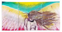 Arch Angel Michael Bath Towel