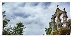 Bath Towel featuring the photograph Arch At The Monastery Of San Pedro De Rocas by Eduardo Jose Accorinti