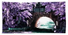Arch Of Light Bath Towel by Dennis Baswell