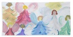 Archangels    Malchei Roshei Bath Towel