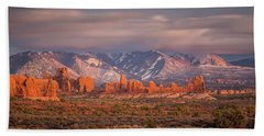 Arches National Park Pano Hand Towel