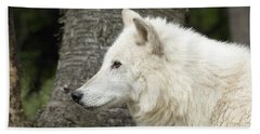 Arctic Wolf - On Watch Hand Towel