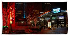 D66l-4 Arena District Photo Hand Towel