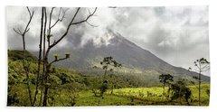 Arenal Volcano, Costa Rica Hand Towel