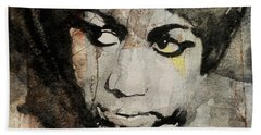 Aretha Franklin - Don't Play That Song For Me  Hand Towel