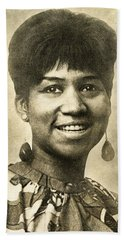 Aretha Franklin Queen Of Soul Hand Towel