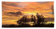 Hand Towel featuring the photograph Arizona Awesome by Anne Rodkin