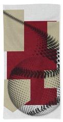 Arizona Diamondbacks Art Hand Towel by Joe Hamilton