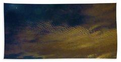 Arizona Moonset Hand Towel by Kimo Fernandez