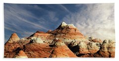 Bath Towel featuring the photograph Arizona North Coyote Buttes by Bob Christopher